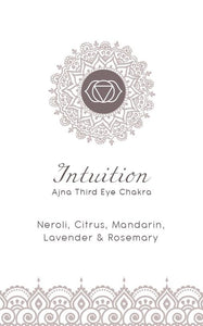 Yoga Candle - Intuition - Third Eye Chakra