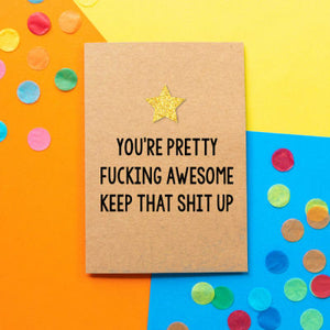 Bettie Confetti - You're Pretty Fucking Awesome