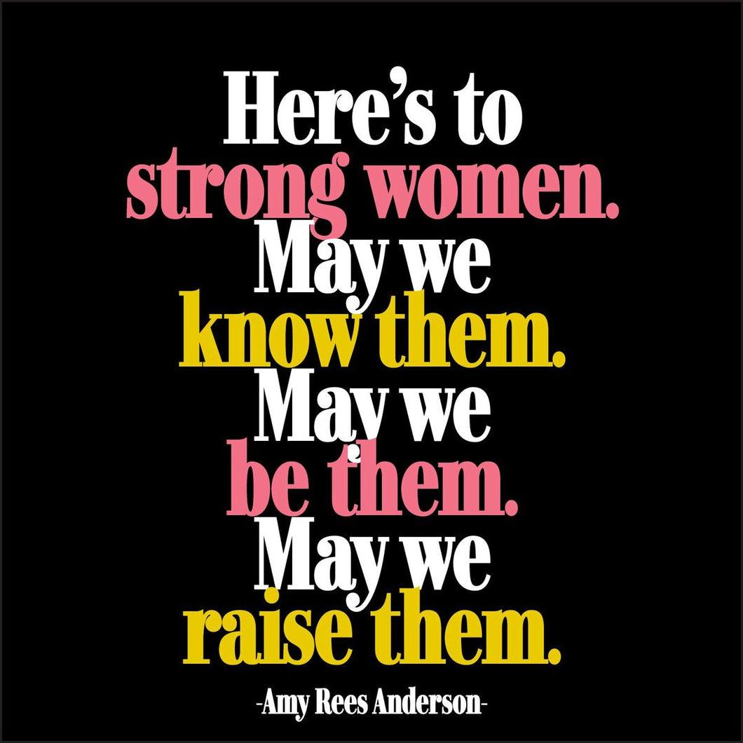 Strong Women Quotable Card