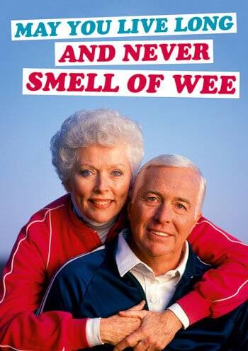 Smell Of Wee Card