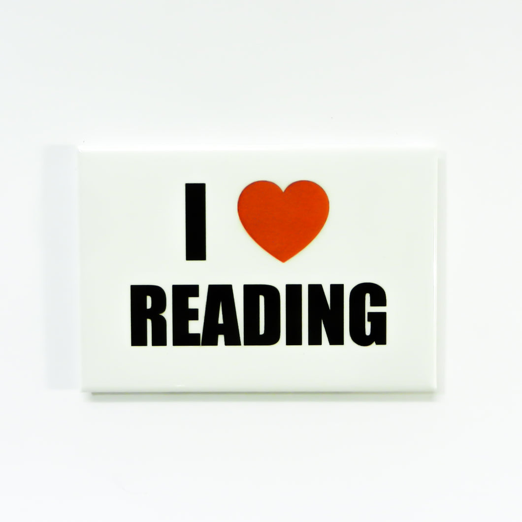 I Heart Reading Magnet