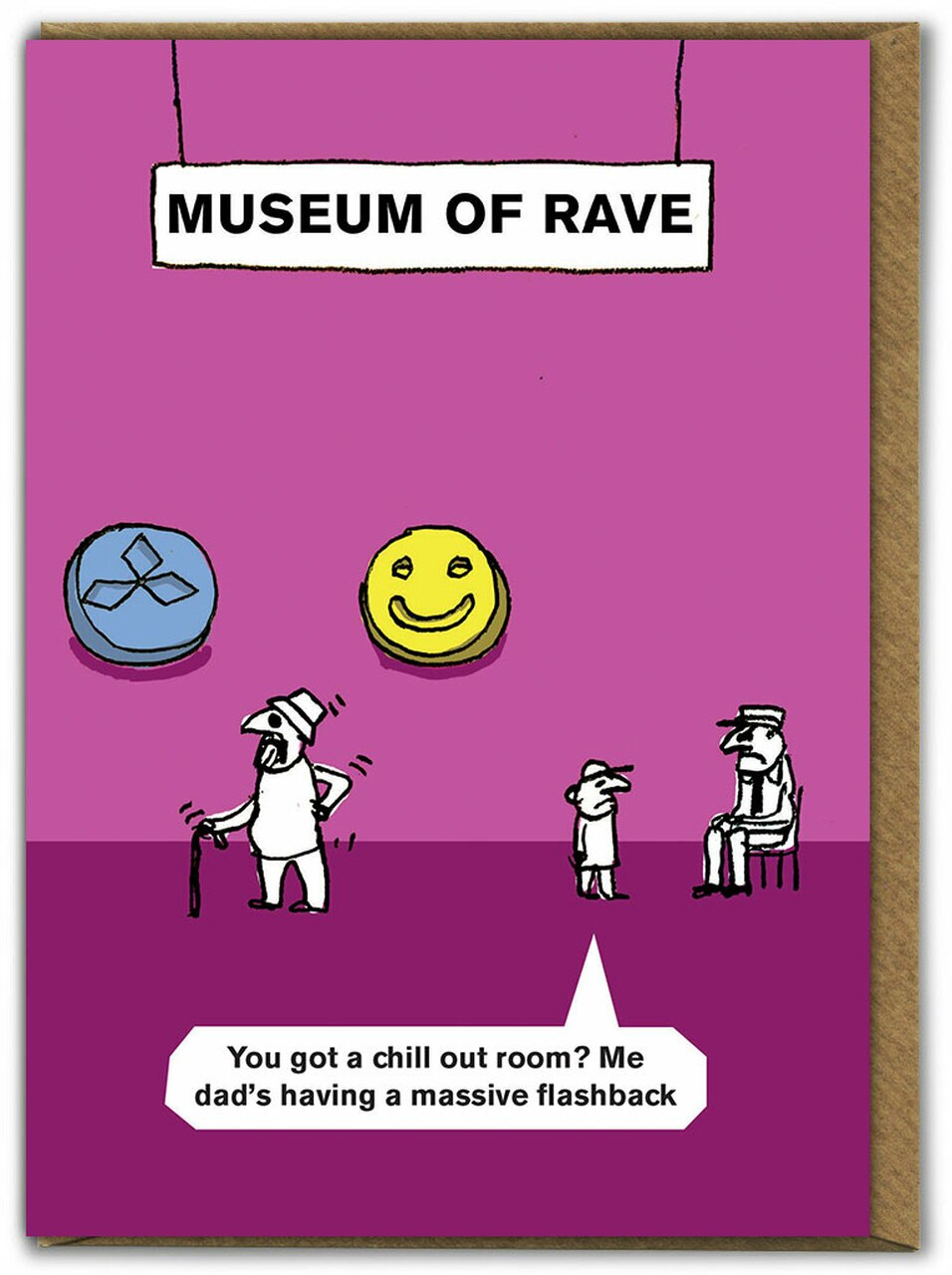 Museum of Rave Card