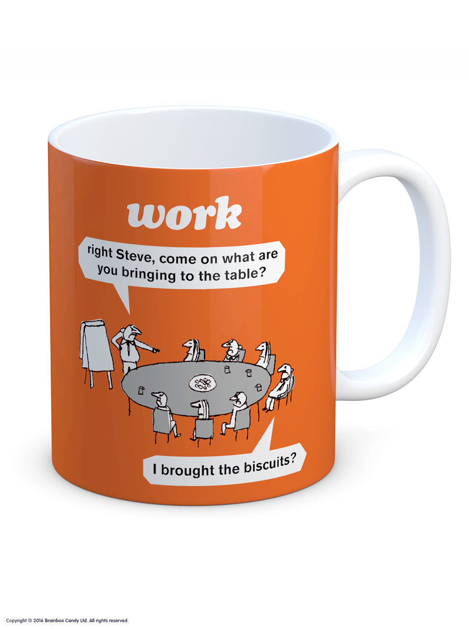 Work Biscuits Mug
