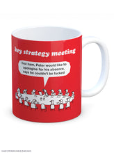 Key Strategy Meeting Mug