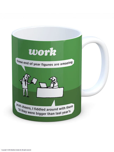Work Amazing Figures Mug