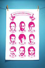 Hot English Dishes Tea Towel