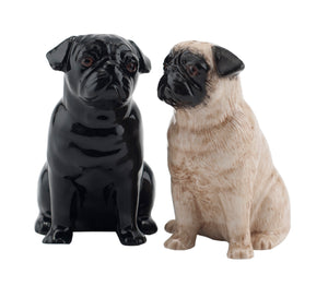 Pug Salt and Pepper Pots