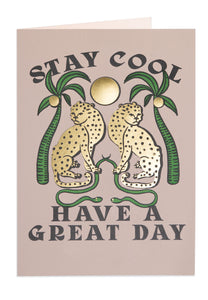 Archivist- Stay Cool Greetings Card