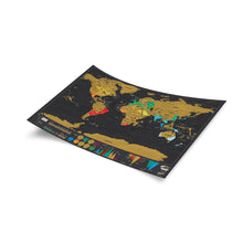 Luckies Travel Deluxe Edition Scratch World Map