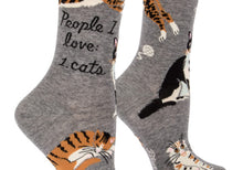 People I love:Cats Women's Socks