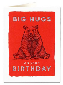 Archivist- Big Hugs Greetings Card