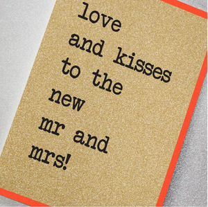 Counting Stars - Love And Kisses To The New Mr And Mrs!