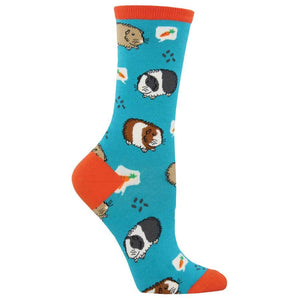 Guinea Pigs Socks Womens