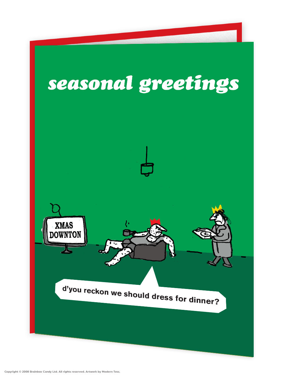 Downton Abbey Christmas Card
