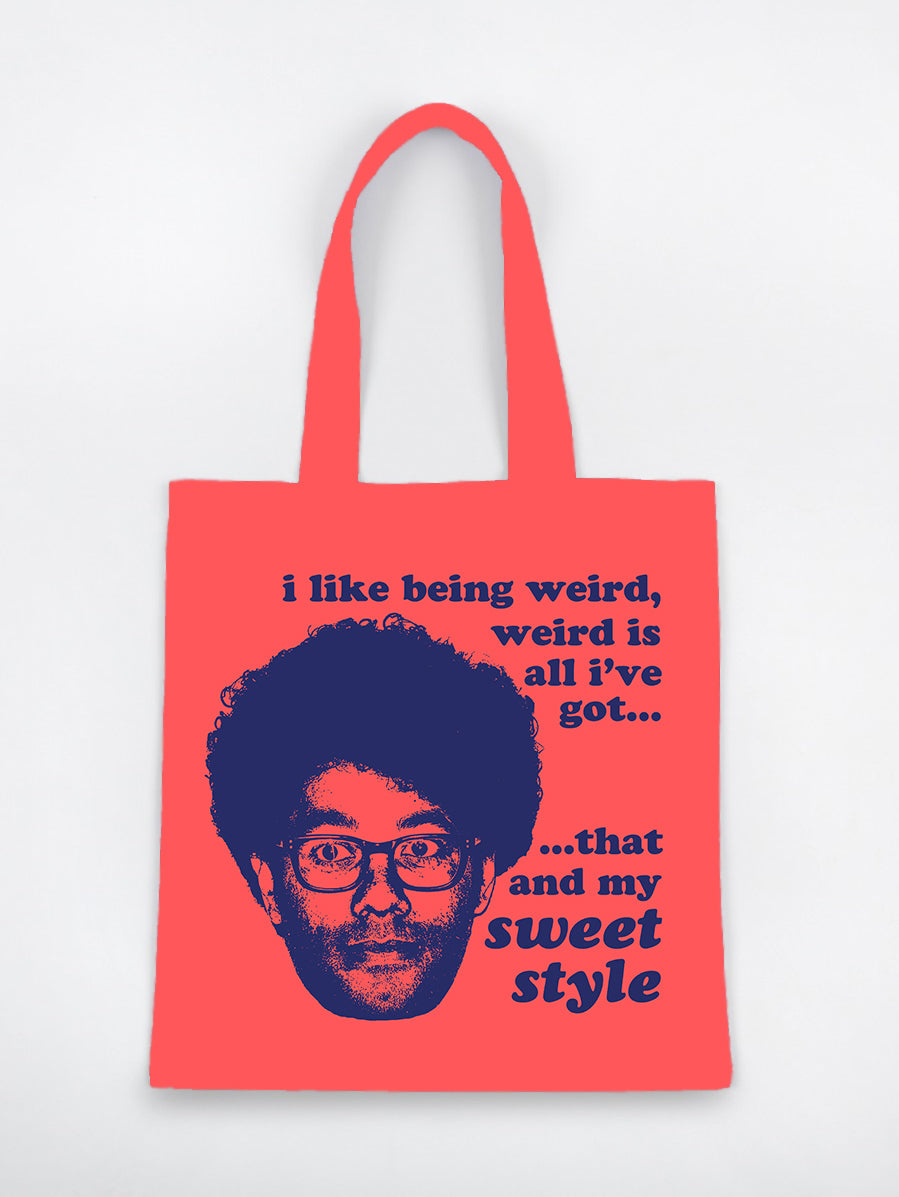 Richard Ayoade Tote Bag