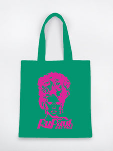 Ru Paul's Bag Face Tote Bag
