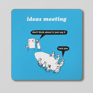 Ideas Meeting Coaster