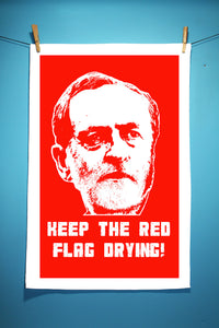 Jeremy Corbyn Tea Towel