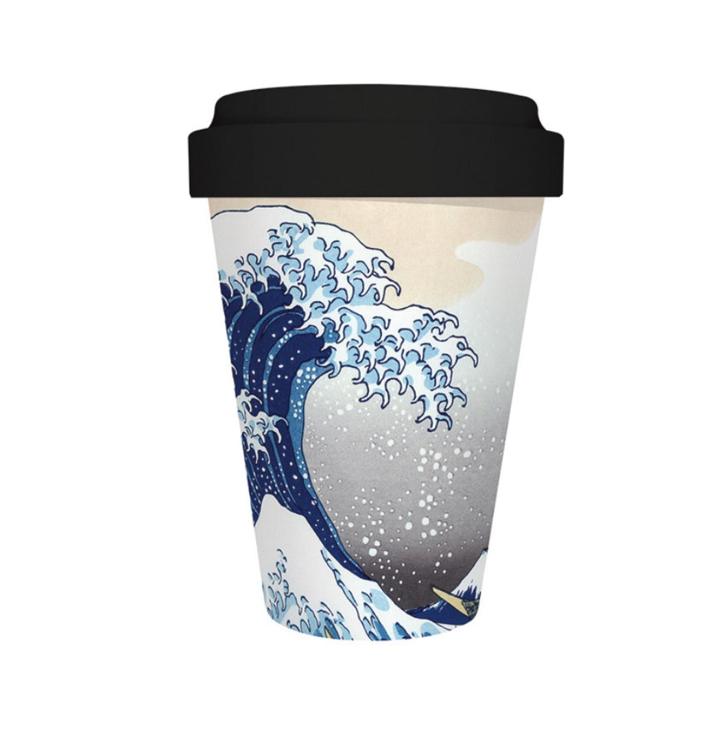 The Great Wave Travel Mug