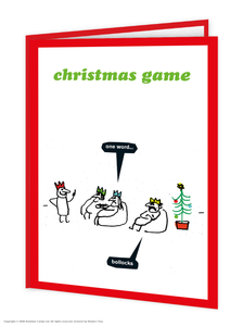 Christmas Game Card
