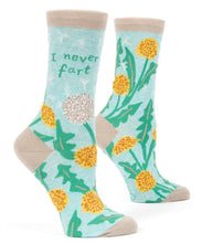 I Never Fart Women's Socks