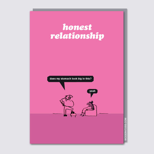 Honest Relationship Card