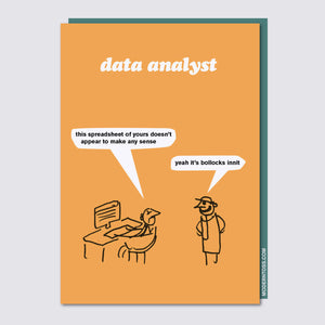 Data Analyst Card