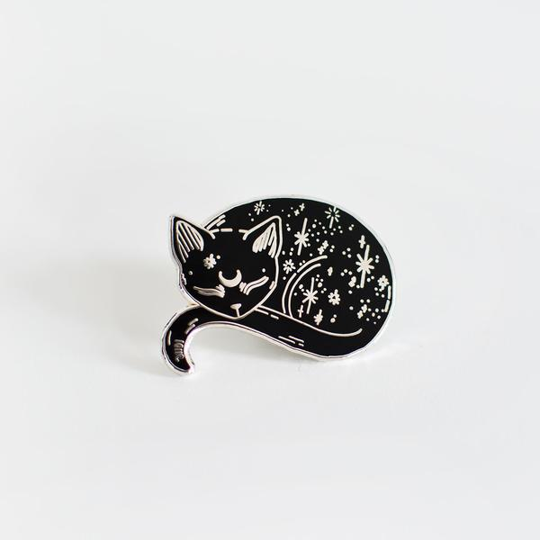 Mystic Cat Enamel Pin