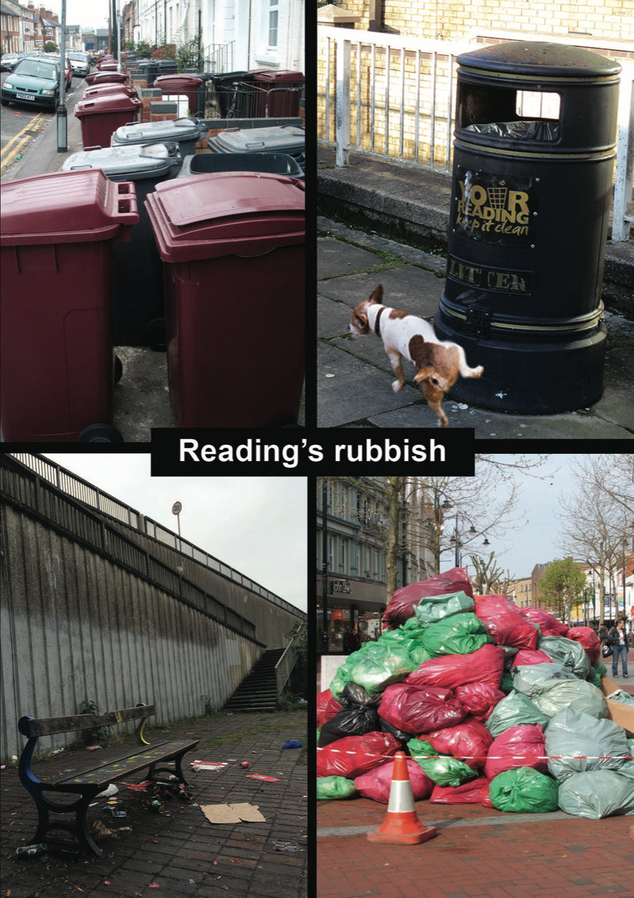 Reading's Rubbish Card