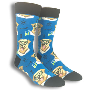 Science Lab Socks Mens