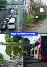 Happy Birthday from Reading Greetings Card
