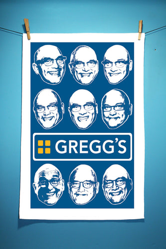 Gregg's Tea Towel