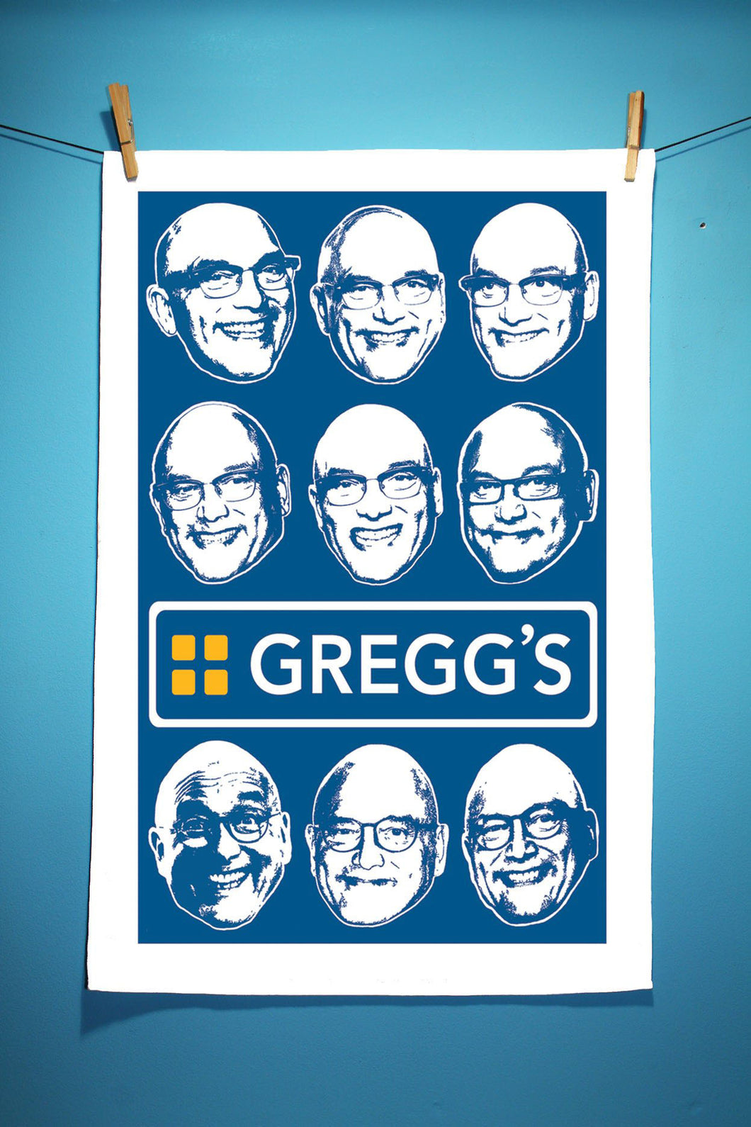Gregg Tea Towel