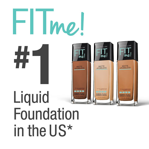 maybelline new york fit me matte with poreless foundation 220