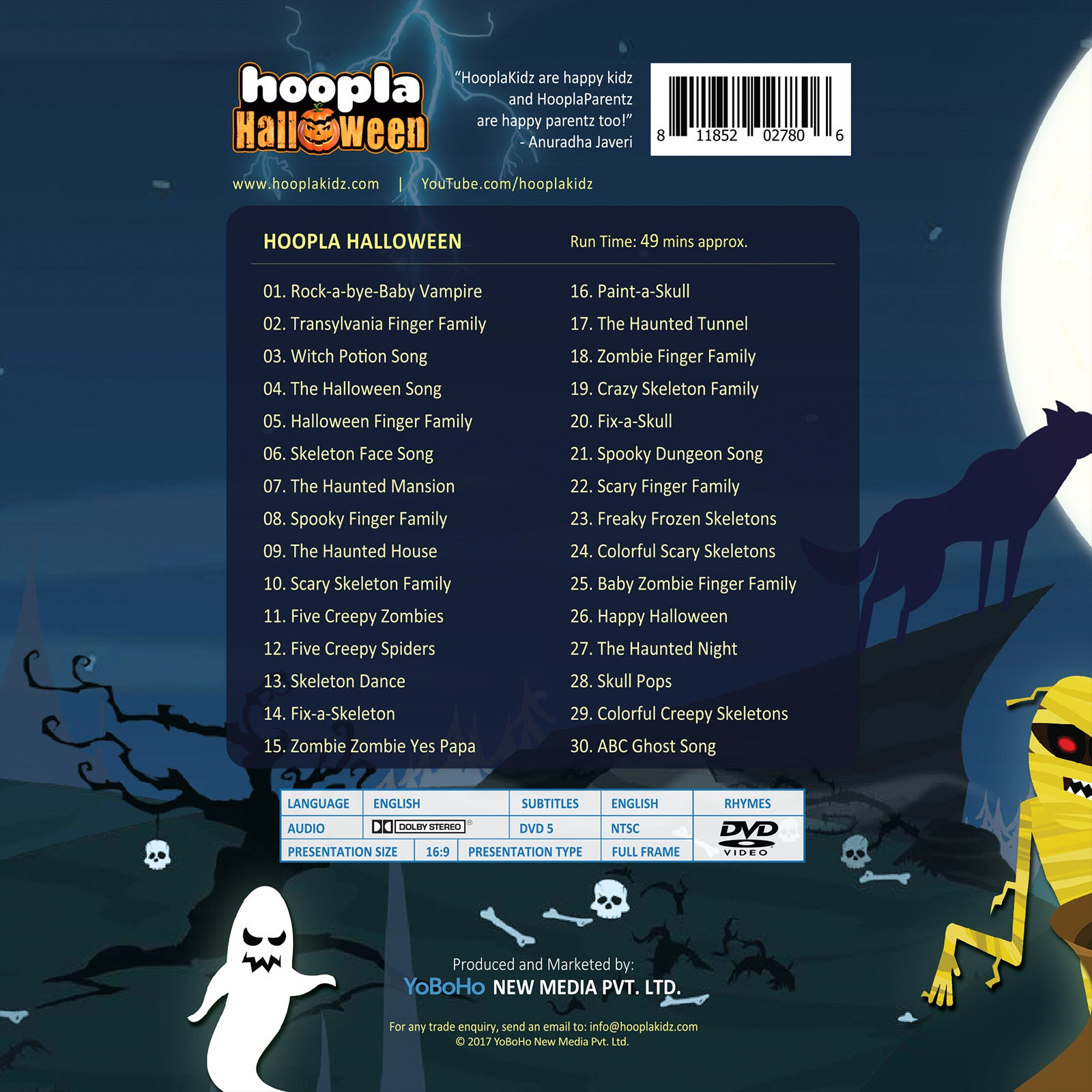 Hoopla Halloween - Halloween Songs for Kids