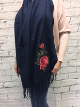 Winter wrap up scarf
