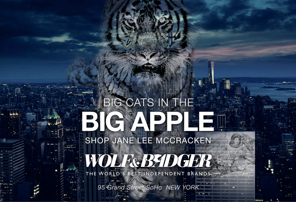 Big Cats in the Big Apple! Wolf & Badger SoHo