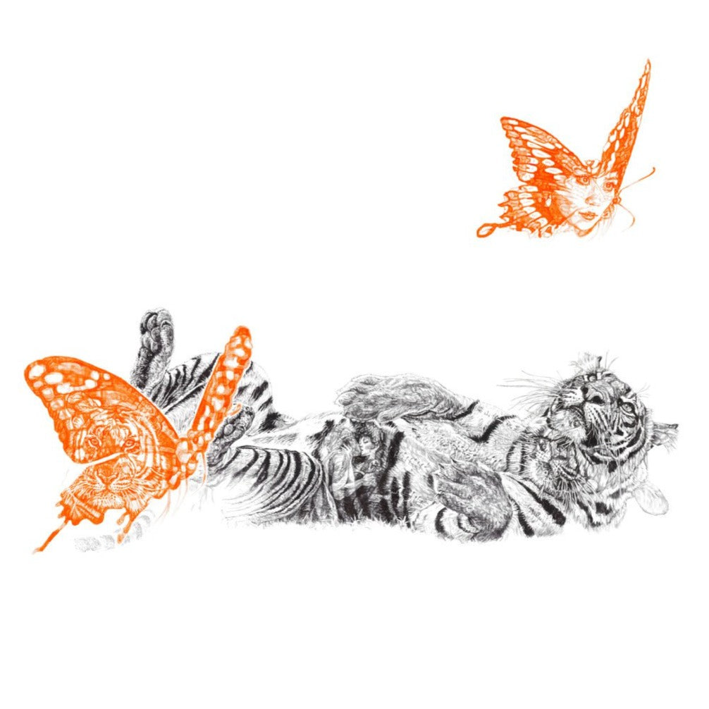 Butterfly Lover Limited Edition Print
