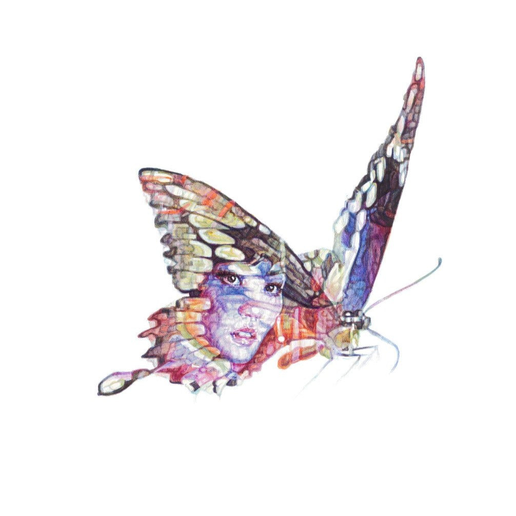Butterfly Lover Zhu Yintai Limited Edition Print