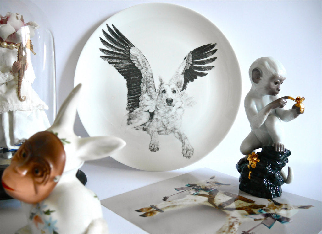 Sweet Fine English China Plate