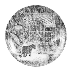 Shh, it's a Tiger! Fine English China Plate