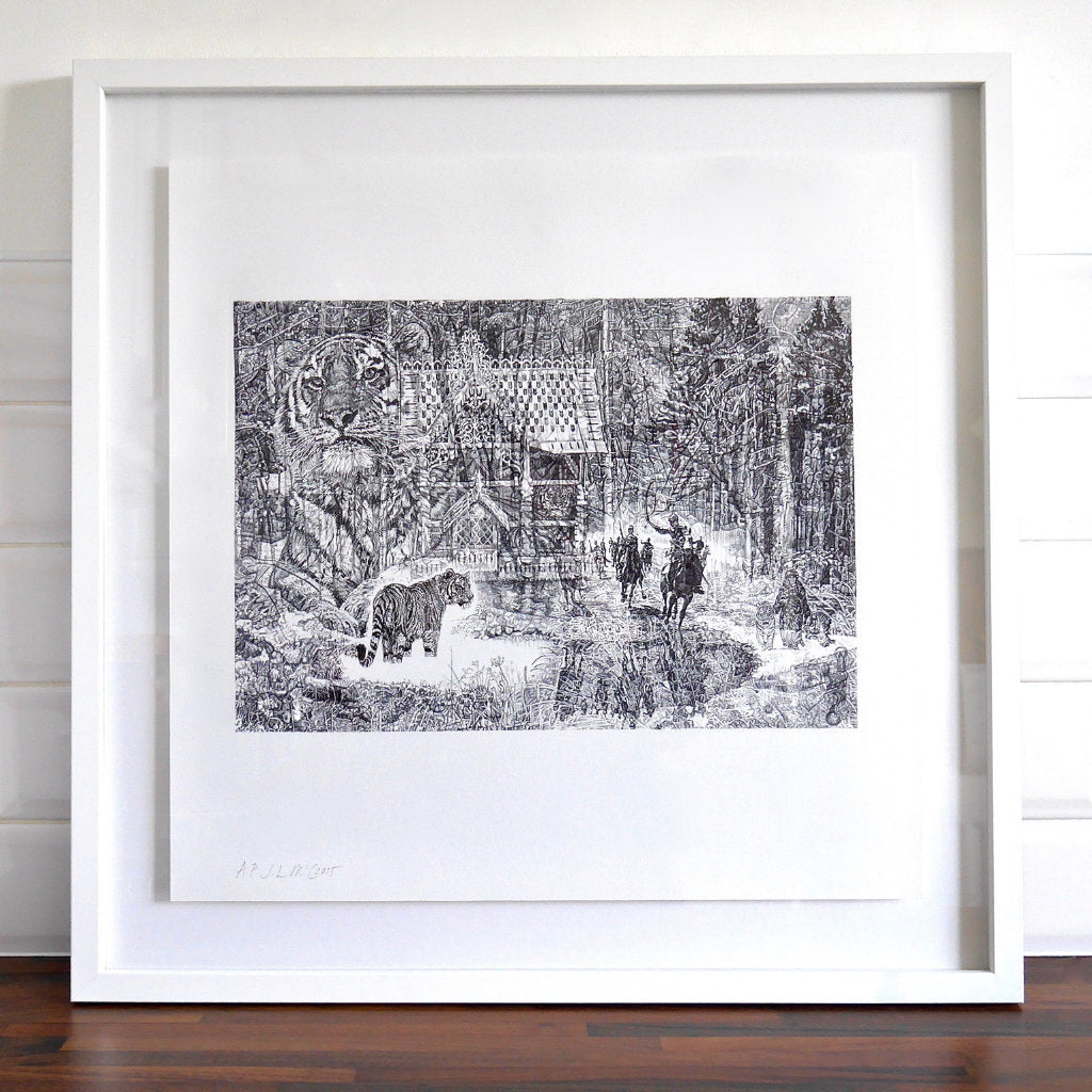 Shh, it's a Tiger! Limited Edition Print