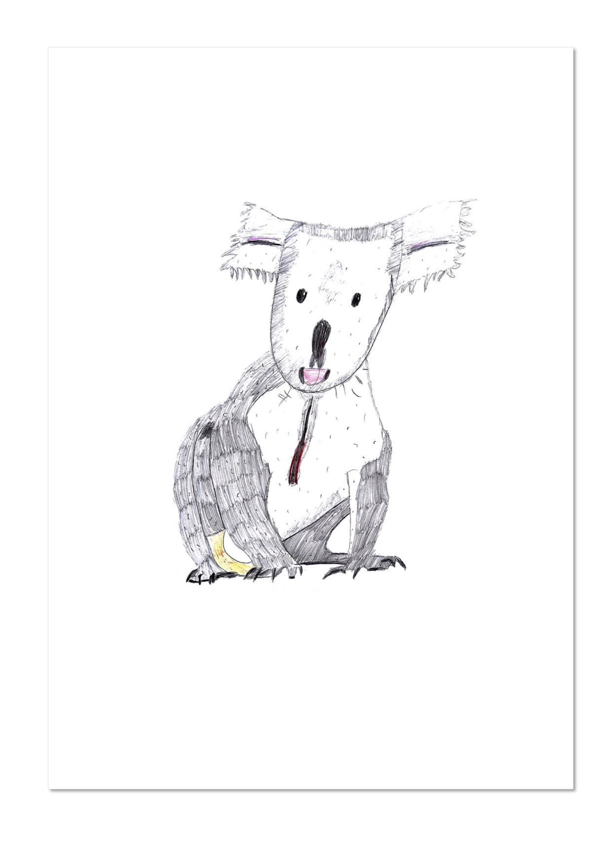 Koala by Eashan Exhibition Print