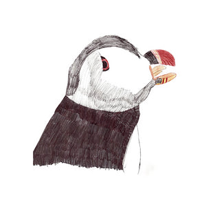 Puffin by Esme Exhibition Print