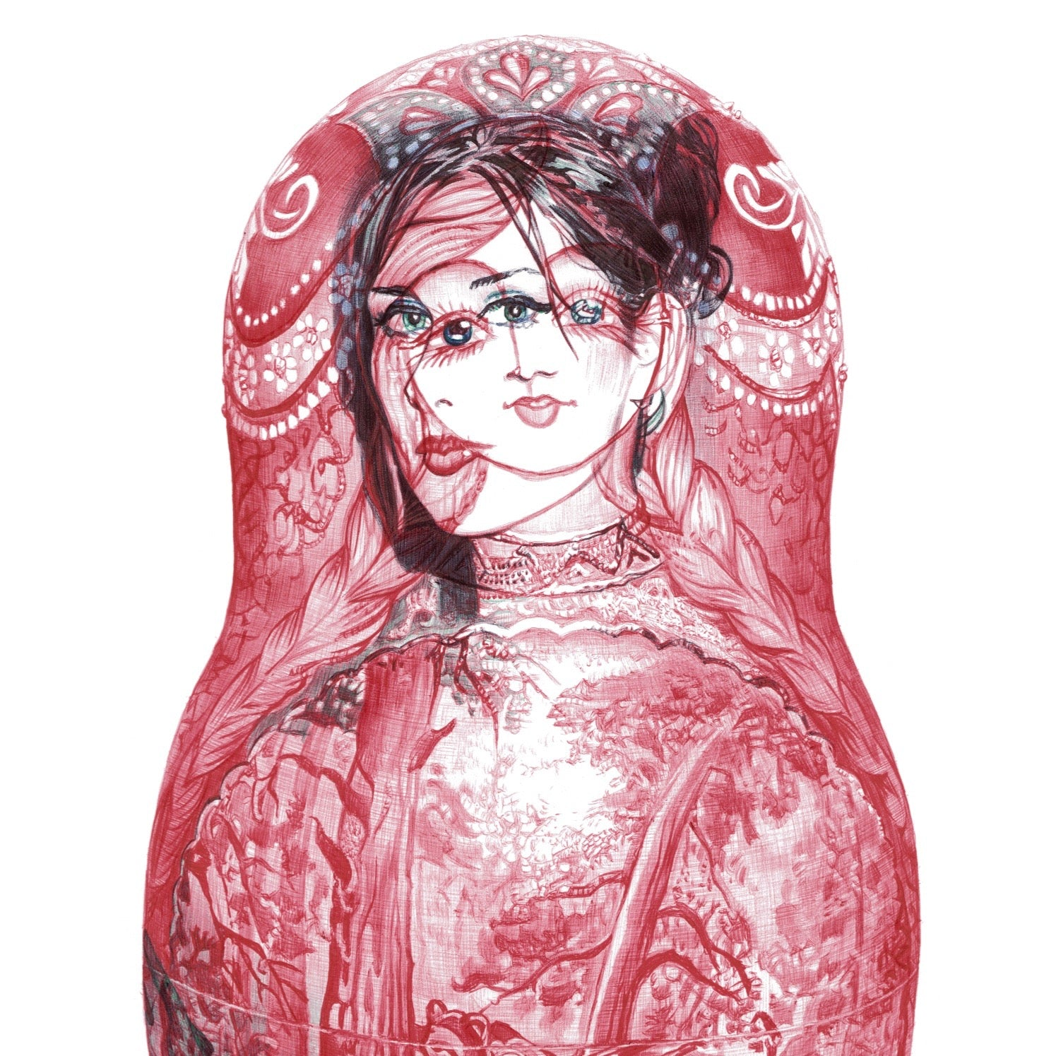 Russian Doll Limited Edition Print