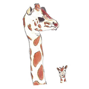Giraffe by Robert Exhibition Print