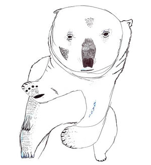 Polar Bear by Chloe Exhibition Print