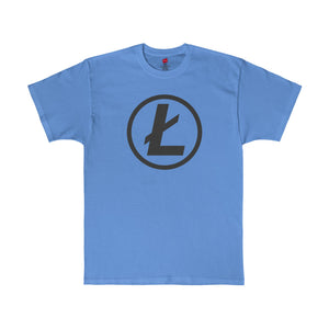 Ltc Tee Minimal Carolina Blue