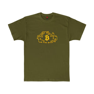 Btc Tee Cloud Circuit Fatigue Green