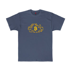 Btc Tee Cloud Circuit Navy